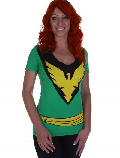 Womens X-Men Phoenix T-Shirt, halloween costume (Womens X-Men Phoenix T-Shirt)