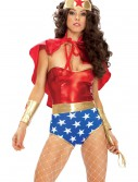 Wonder Seductress Superhero Costume, halloween costume (Wonder Seductress Superhero Costume)