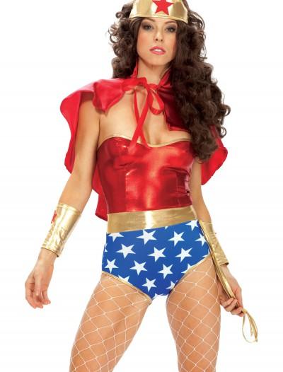 Wonder Seductress Superhero Costume, halloween costume (Wonder Seductress Superhero Costume)