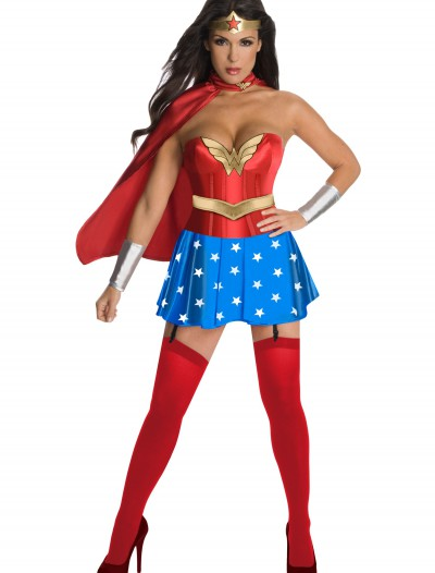 Wonder Woman Corset Costume, halloween costume (Wonder Woman Corset Costume)