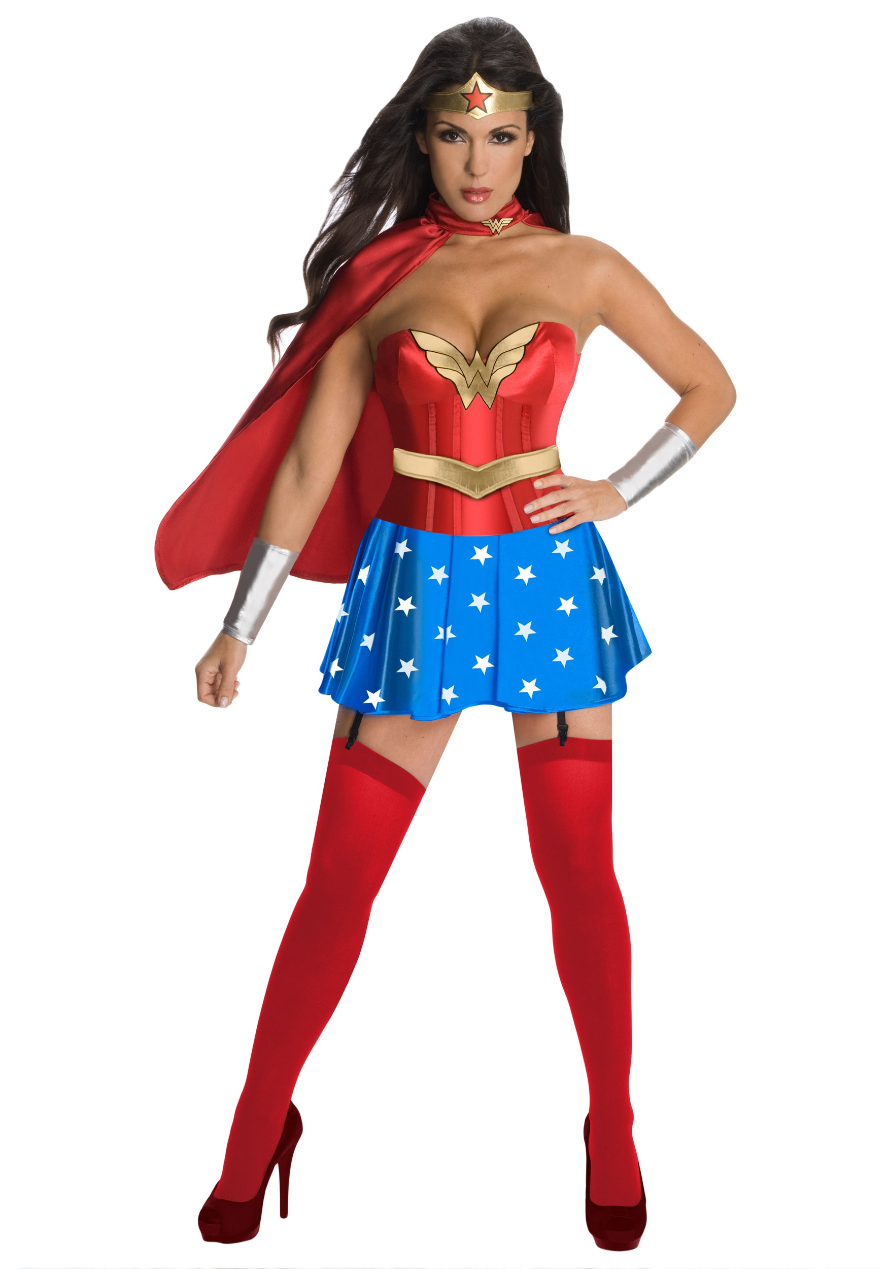 Wonder Woman Corset Costume Halloween Costumes