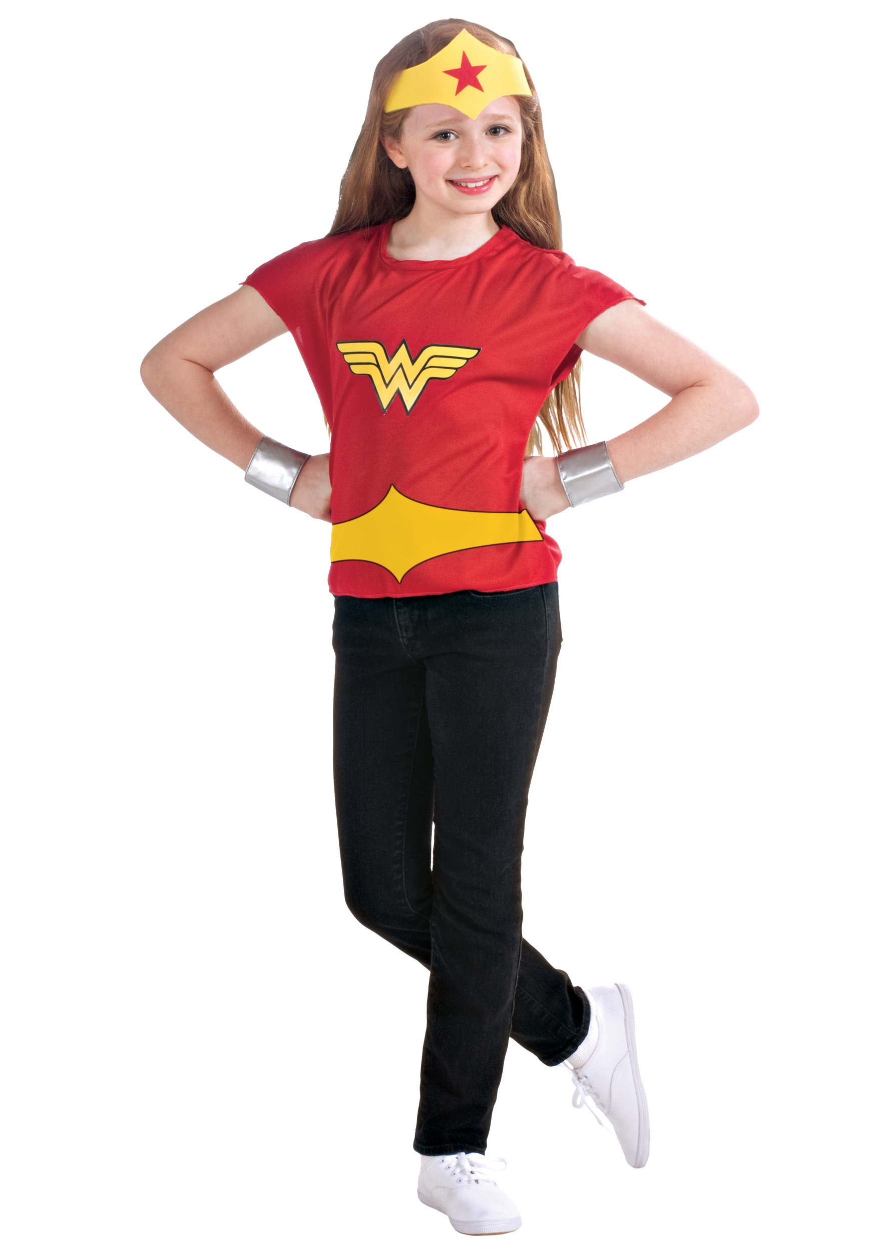Wonder Woman Halloween Costume Kids.Wonder Woman Costume Set