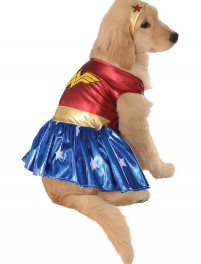Wonder Woman Pet Costume, halloween costume (Wonder Woman Pet Costume)