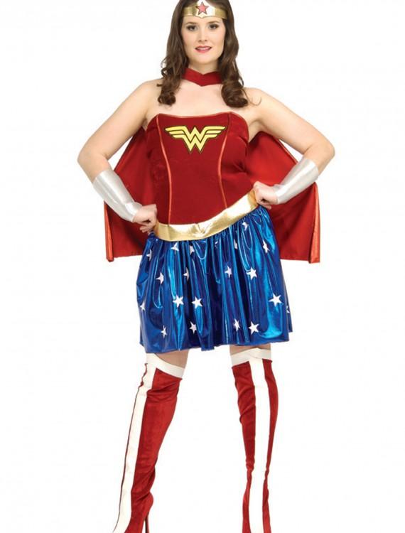 Wonder Woman Plus Size Costume, halloween costume (Wonder Woman Plus Size Costume)