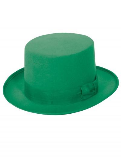 Wool Green Top Hat, halloween costume (Wool Green Top Hat)