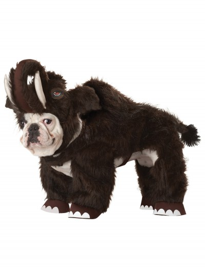 Woolly Mammoth Pet Costume, halloween costume (Woolly Mammoth Pet Costume)