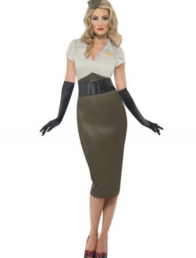 WW2 Army Pin Up Darling Costume, halloween costume (WW2 Army Pin Up Darling Costume)