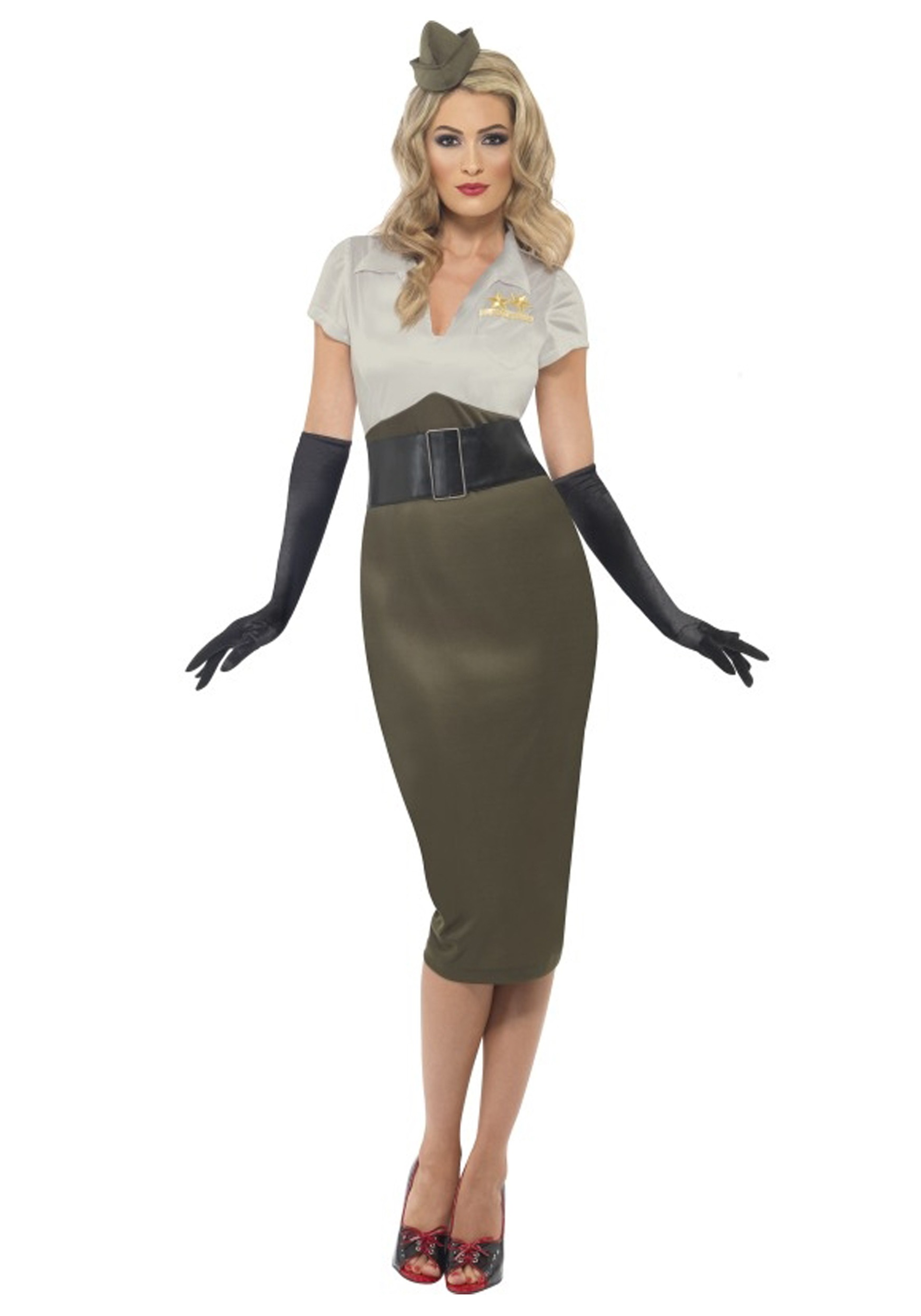ww2 army pin up darling costume - Soldier Girl Halloween Costume