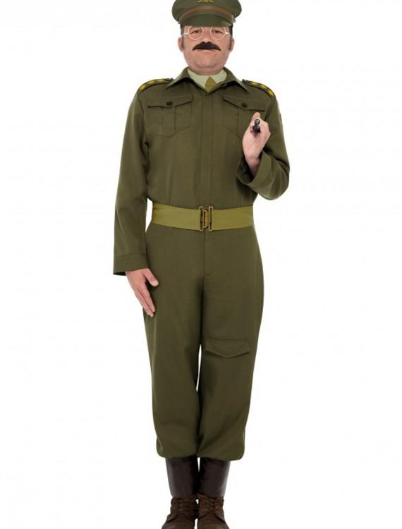 WW2 Home Guard Captain Costume, halloween costume (WW2 Home Guard Captain Costume)