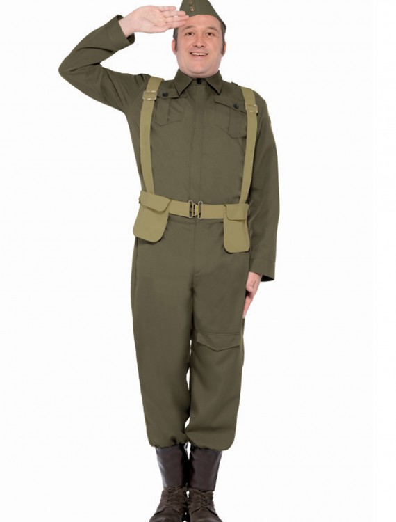 WW2 Home Guard Private Costume, halloween costume (WW2 Home Guard Private Costume)