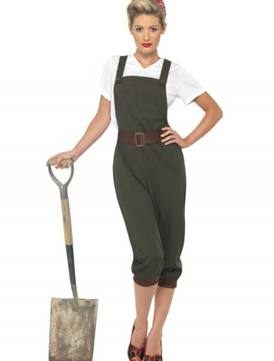 WW2 Land Girl Costume, halloween costume (WW2 Land Girl Costume)