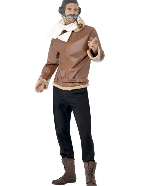 WW2 Pilot Costume, halloween costume (WW2 Pilot Costume)