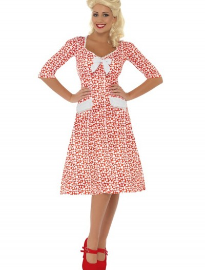 WW2 Sweet Heart Costume, halloween costume (WW2 Sweet Heart Costume)