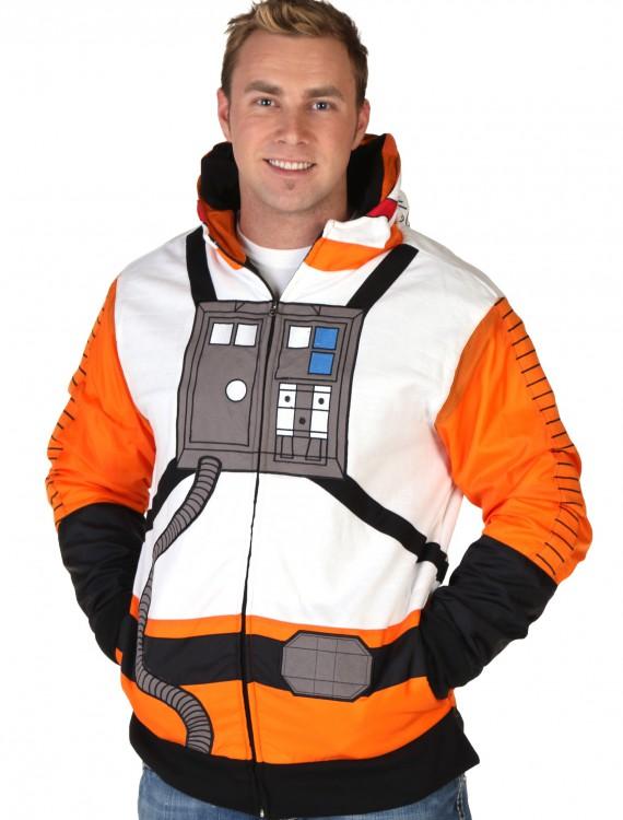 X-Wing Pilot Hoodie, halloween costume (X-Wing Pilot Hoodie)