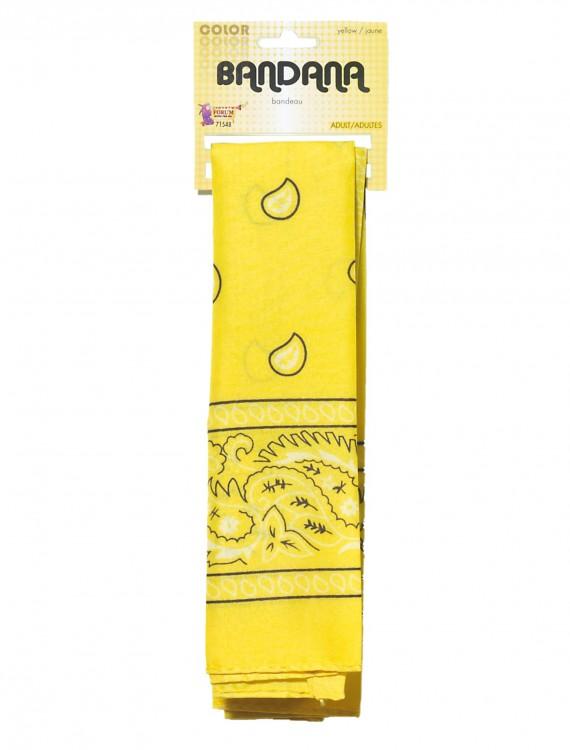Yellow Bandana, halloween costume (Yellow Bandana)