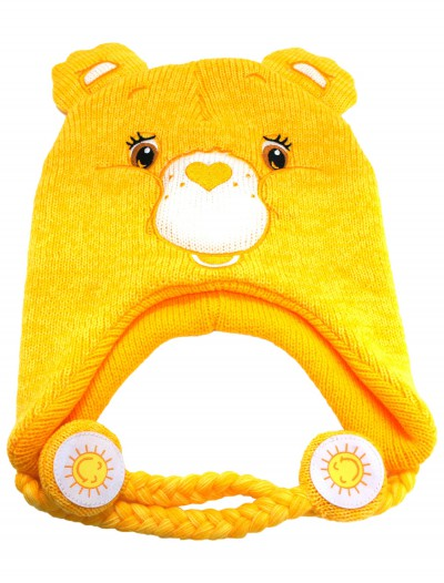 Yellow Carebears Laplander Hat, halloween costume (Yellow Carebears Laplander Hat)