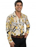 Yellow Disco Shirt, halloween costume (Yellow Disco Shirt)