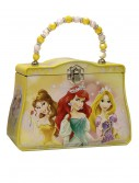 Yellow Disney Princesses Tin Purse, halloween costume (Yellow Disney Princesses Tin Purse)