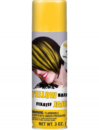 Yellow Hairspray, halloween costume (Yellow Hairspray)