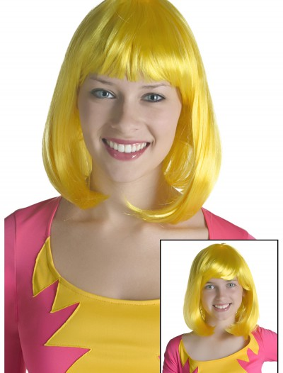 Yellow Monster Wig, halloween costume (Yellow Monster Wig)