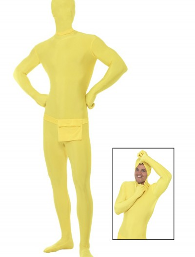 Yellow Second Skin Suit, halloween costume (Yellow Second Skin Suit)