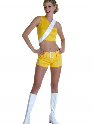 Yellow Soda Girl Costume, halloween costume (Yellow Soda Girl Costume)