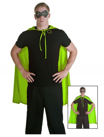 Green Superhero Cape, halloween costume (Green Superhero Cape)
