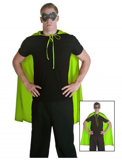 Green Superhero Cape, halloween costume (Green Superhero Cape)