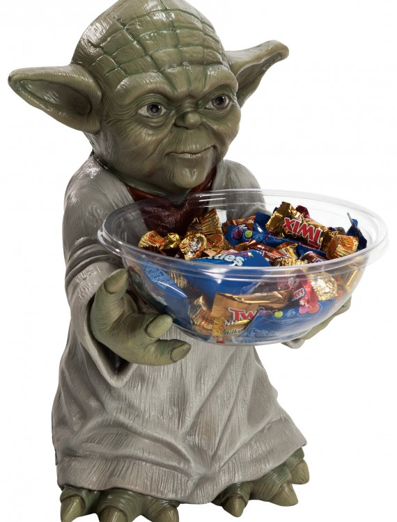 Yoda Candy Bowl Holder, halloween costume (Yoda Candy Bowl Holder)