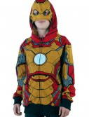 Youth Iron Man 42 Costume Hoodie, halloween costume (Youth Iron Man 42 Costume Hoodie)
