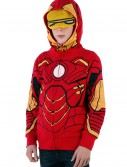Youth Iron Man Costume Hoodie, halloween costume (Youth Iron Man Costume Hoodie)