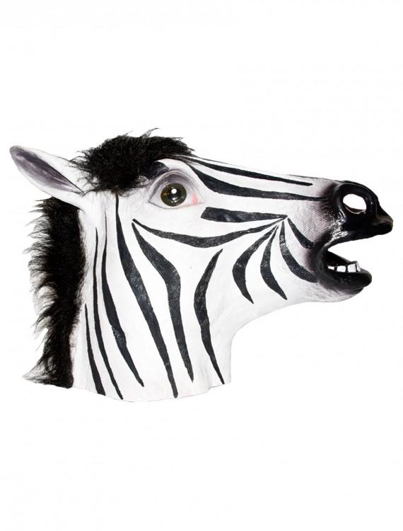 Zebra Latex Mask, halloween costume (Zebra Latex Mask)