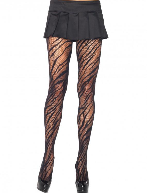 Zebra Net Pantyhose, halloween costume (Zebra Net Pantyhose)