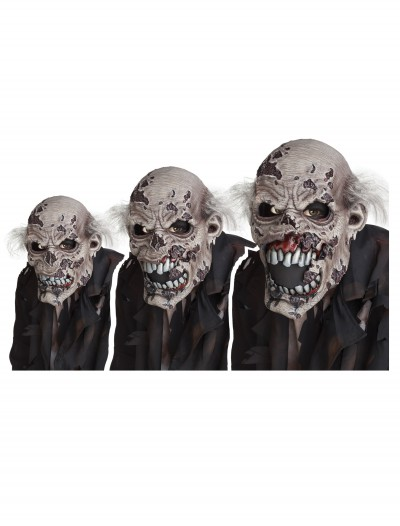 Zombie Ani-Motion Mask, halloween costume (Zombie Ani-Motion Mask)