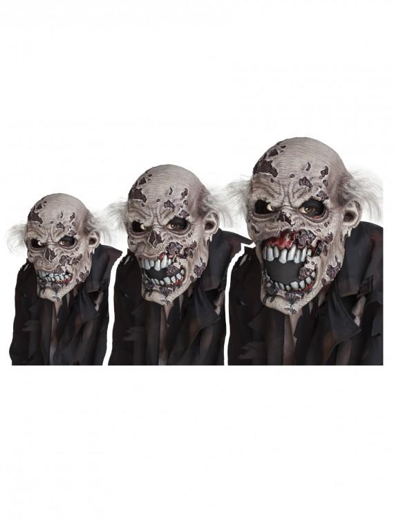 Zombie Ani-Motion Mask, halloween costume (Zombie Ani-Motion Mask)