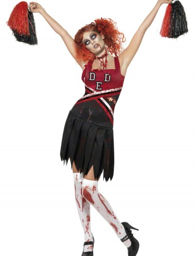 Zombie Cheerleader Costume, halloween costume (Zombie Cheerleader Costume)