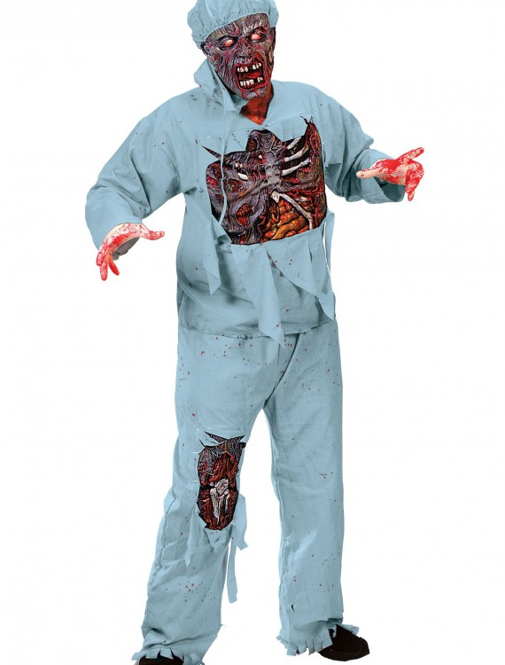 Zombie Doctor Costume, halloween costume (Zombie Doctor Costume)