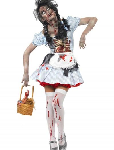 Zombie Kansas Girl Costume, halloween costume (Zombie Kansas Girl Costume)