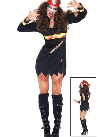 Zombie Firestarter Costume, halloween costume (Zombie Firestarter Costume)