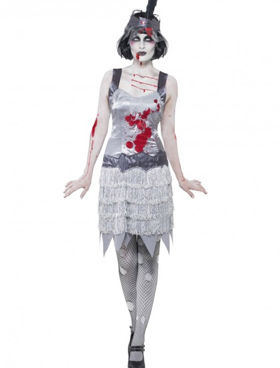Zombie Flapper Costume, halloween costume (Zombie Flapper Costume)