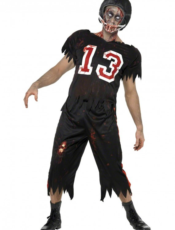 Zombie Football Player Costume, halloween costume (Zombie Football Player Costume)