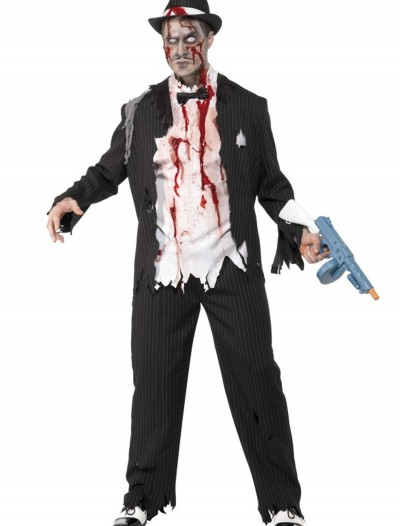 Zombie Gangster Costume, halloween costume (Zombie Gangster Costume)