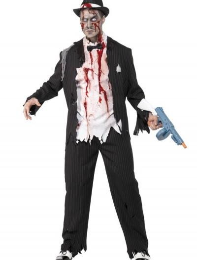 Zombie Gangster Costume, halloween costume (Zombie Gangster Costume)