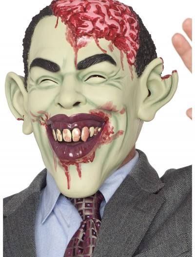Zombie in Charge Mask, halloween costume (Zombie in Charge Mask)