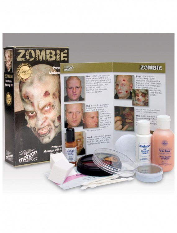 Zombie Makeup Kit, halloween costume (Zombie Makeup Kit)