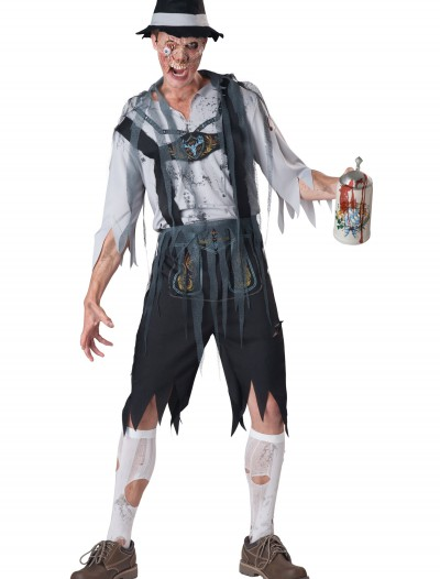 Zombie Men's OktoberFeast Costume, halloween costume (Zombie Men's OktoberFeast Costume)