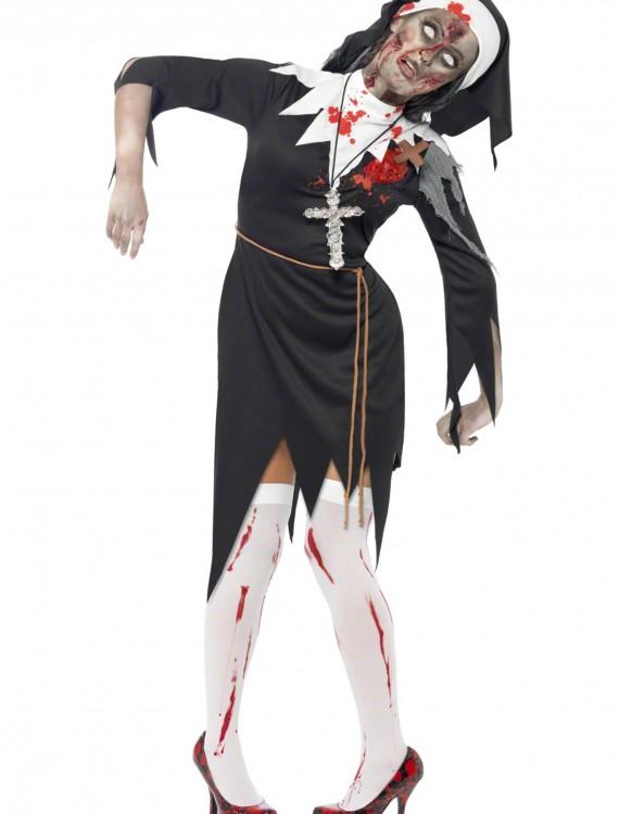Zombie Nun Costume, halloween costume (Zombie Nun Costume)