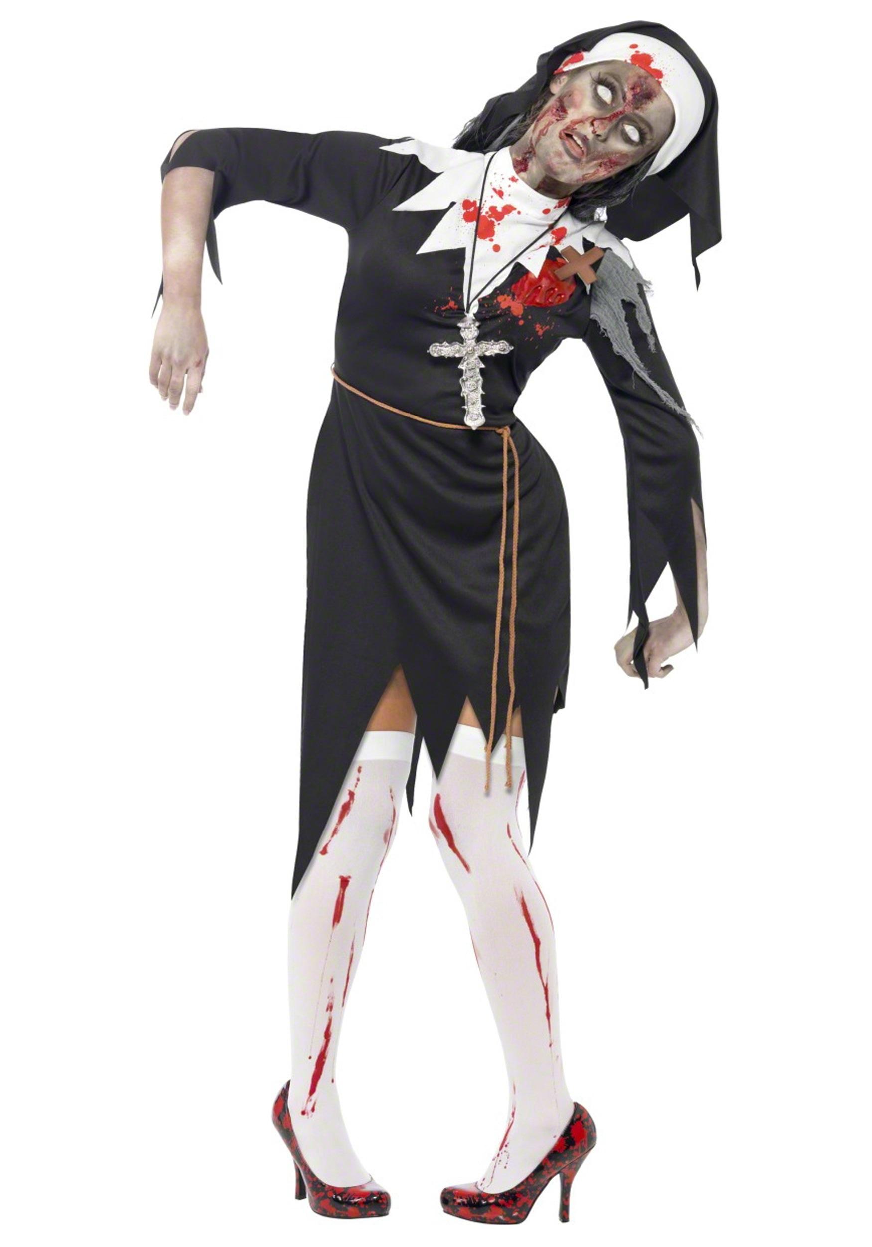 Zombie Nun Costume  sc 1 st  Halloween Costumes & Zombie Nun Costume - Halloween Costumes
