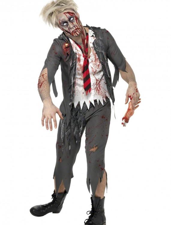 Zombie School Boy Costume, halloween costume (Zombie School Boy Costume)