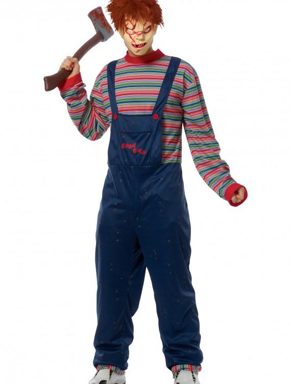Adult Chucky Costume, halloween costume (Adult Chucky Costume)